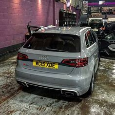 #Audi #RS3 #Sportback - - - - - -  Follow my Partner @sensationcars…