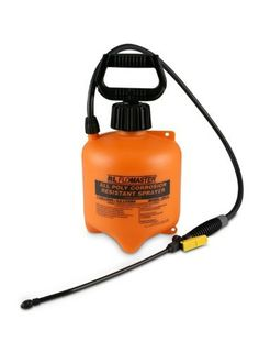 """CRC MK1991 Commercial Pump Sprayer by CRC. $52.63. Designed for the commercial use of chemicals. Easy to use. Holds one gallon. Corrosive resistant. Constructed of high density polyethylene. Equipped with 36"""" reinforced multi layer PVC braided hose and adjustable nozzle."""