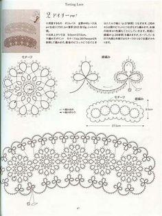 Image result for japanese tatting patterns free