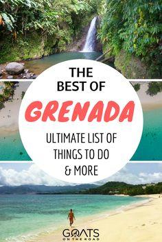 Best Caribbean Islands | What To Do In Grenada | Grand Anse | St George | Belmont Estate | Island of Spice | #caribbeantravel #visitgrenada #honeymoondestinations