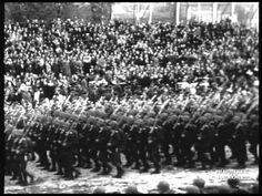 Wojsko Polskie na pogrzebie J. Piłsudskiego - My, Pierwsza Brygada - Wysoka jakość! - YouTube