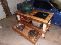 Awesome Find This Pin And More On Big Green Egg Tables By Beckerchris.