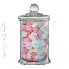 Marshmallow Lolly Buffet Jars