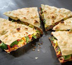Vegane Quesadillas nach Attila Hildmann | Für Sie