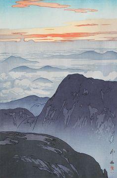 woodblock print by YOSHIDA Hiroshi (1876-1950), Japan