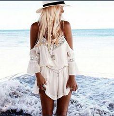 cc7185a4298 Cheap white short jumpsuit