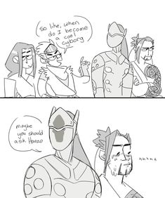Young Hanzo & Genji Meets Their Future Selves