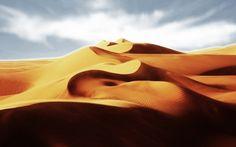 砂漠砂丘 砂漠 自然 高解像度で壁紙
