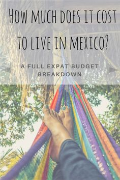How much does it cost to live in Mexico as an expat?