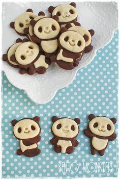 Some of Borealis' panda cookies. They're a best seller in the bakery. The children love the cute designs and so do the adults and elderly! They dont sell a ton with teens but some teens do buy them!