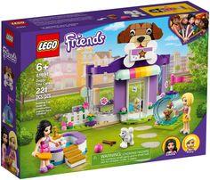 Le set LEGO Friends La garderie pour chiens (41691) est un formidable cadeau à offrir à un enfant qui aime les chiens. Il regorge de détails passionnants et comprend 2 mini-poupées LEGO Friends qui permettront aux amoureux des animaux d'inventer des histoires pendant des heures. Stimuler l'imagination. Les enfants peuvent s'amuser de multiples façons avec les chiens qui leur sont confiés. Lego Friends Sets, Find Friends, Presents For Kids, Gifts For Kids, Toy Puppies, Lego News, Dog Daycare, Dog Snacks, Creative Play