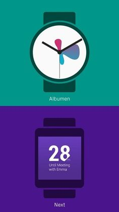 38 Android wear watch faces