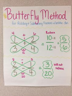 13 Adding and Subtracting Fractions Worksheets Adding and subtracting fractions with unlike denominators butterfly method fractions math anchorchart mathtutor The youngsters can enjoy Number Worksheets, Math Worksheets, Alphabet Worksheets. Adding And Subtracting Fractions, Math Fractions, Equivalent Fractions, Math Math, How To Add Fractions, Simplifying Fractions, Comparing Fractions, Dividing Fractions, Math Tutor