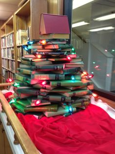 Church Library: Holiday Decorating of the Library :-)