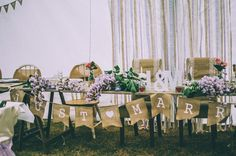 the bridal table #rustic #country #wedding #party @treenridge