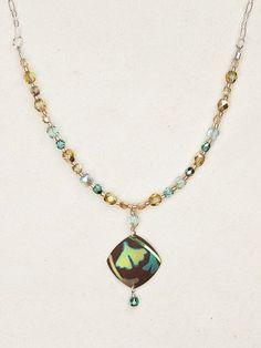 Monet's Garden Beaded Necklace