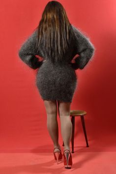 Long Sweaters, Sweaters For Women, Gros Pull Mohair, Mohair Sweater, Jumpers, Gorgeous Men, Cashmere, Sweater Dresses, Pj