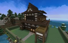Chinese Old Mansion, creation #6922