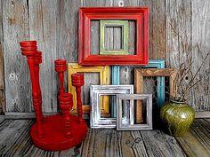 Modern Industrialism  Rustic Twist Home Decor  by TimelessNchic,