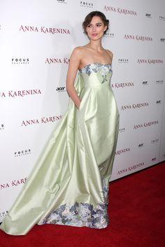 Keira Knightley en el estreno de Anna Karenina en Los Ángeles