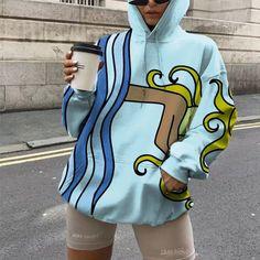 Graffiti Styles, Retro Waves, Printed Sweatshirts, Fashion Outfits, Womens Fashion, Design Your Own, Streetwear Fashion, Shirt Style, Street Wear
