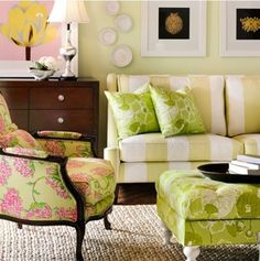 Lilly Pulitzer furniture