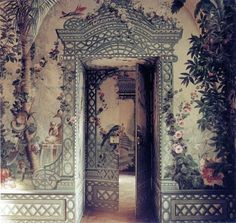All Personal Feeds Mary Mcdonald, Tuscan Style, Dream Garden, Trellis, Old World, Photo And Video, Interior Design, Building, Frame