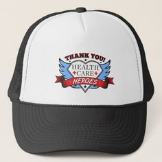 Thank You Health Care Heroes Trucker Hat baseball photography, baseball crafts, baseball diy Baseball Mom, Baseball Tips, Baseball Crafts, Thank You Nurses, Heath Care, Hero Poster, Baseball Photography, 1st Responders, Custom Hats