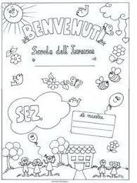 Risultati immagini per schede didattiche accoglienza scuola dell'infanzia