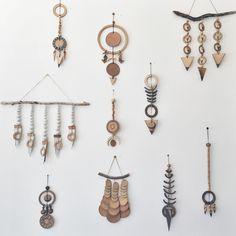 Heather Levine ceramic wall hangings // ESQUELETO