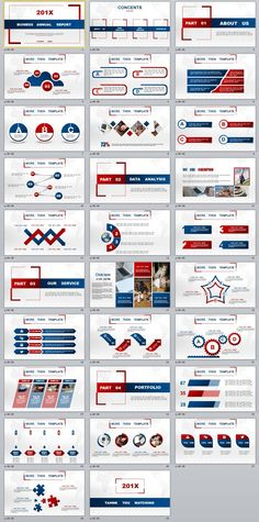 29+ multicolor annnual report PowerPoint templates