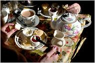 """Sipping Serenity in the City"" - High Tea in NYC By KALY SOTO, NY Times  Published: March 10, 2011"