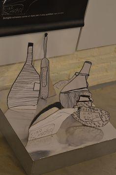 BEPS Reggio Emilia Study Tour 2012: Thursday 19th of April - Traces of Children's Graphics in Town