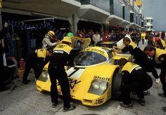 Henri Pescarolo / Stefan Johansson / Ayrton Senna - Porsche 956 - New Man Joest Racing - XXX Internationales ADAC-1000-km-Rennen Nürburgring - 1984 FIA World Endurance Championship, round 4 - Internationale Deutsche Rennsport Meisterschaft, round 2