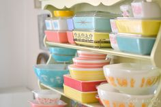 Dear Santa, let's start my vintage Pyrex collection this year.