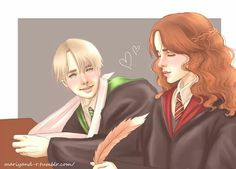 Want to discover art related to dramione? Check out inspiring examples of dramione artwork on DeviantArt, and get inspired by our community of talented artists. Arte Do Harry Potter, Harry Potter Artwork, Harry Potter Ships, Harry Potter Fandom, Harry Potter Universal, Harry Potter World, Draco Malfoy, Draco And Hermione, Hermione Granger