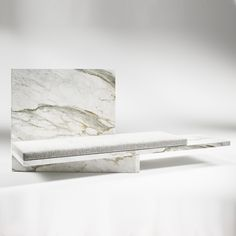 Les Ateliers Courbet Some Are Born to Sweet Delight Claste Quinlan Osborne Tension Marble Furniture, Bench Furniture, Furniture Design, Courbet, Concrete Bench, Stone Bench, Rustic Home Interiors, Artistic Installation, Cabinet Decor