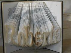 #folded #book #sculpture #name #write #anniversary #wedding