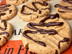 No Bake Peanut Butter Protein Cookies