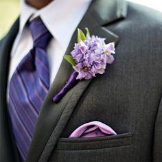 Shades of Violet Tulip really pop against dark grays