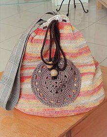 BackPack/Batoh/Vak - modro - biely folk cifrovaný / LuJo - SAShE.sk - Handmade Batohy Straw Bag, Folk, Backpacks, Bags, Fashion, Handbags, Moda, Popular, Fashion Styles