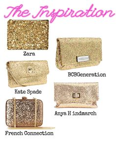 I am Style-ish: DIY Glitter Clutch...make your own glitter clutch just like the store bought ones! Easy!!