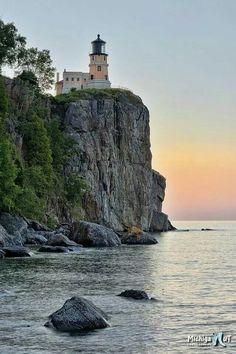 Split Rock Lighthouse two harbor mn