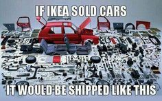 Ikea and cars :http://www.restinghat.com/ikea-and-cars/