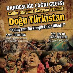 #Derneğimiz #farkında #yaratmaya devam ediyor. Doğu #Türkistan'da neler oluyor? Doğu Türkistan'da neler yaşanıyor? #Bilinçlenmek #istiyorsan bu güzide #programa neden #katılmayasın? #Dünya #Uygur #Kurultayı #Genel #Başkan Yardımcısı Seyit Tümtürk ve Düzce #Üniversitesi #Öğretim #Görevlisi Yrd. Doç. Dr. Fatih Özçelik'in #katılımı ile #Kardeşliğe çağrı #gecemize #sizlerde #davetlisiniz. Genç Eller Derneği #TOBB #Düzce Genç #Girişimciler Kurulu Düzce Genç #MÜSİAD Şubesi Gençlik ve #Spor İl…