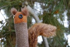 Romy the Squirrel Limby by Lizette Greco