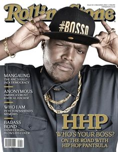 """So proud of my brother, Hip Hop Pantsula. He landed the cover of Rolling Stone South Africa!!! WHO is HHP? If you've heard """"Textual"""", then you know his voice and his skill; he's the guest MC! Now, get to know the man. He's a great one. This feature is well deserved. Your Boss, Proud Of Me, Rolling Stones, The Man, South Africa, The Voice, Singers, Musicians, Hip Hop"""