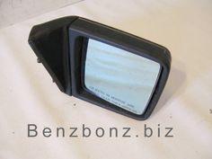 Mirror - Right Side Door 300e W124 Mercedes 1248101416