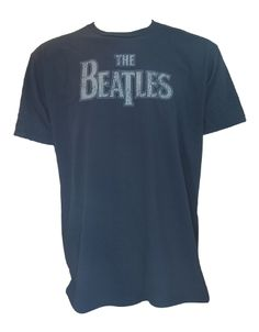 The Beatles Vintage Logo Mens T-Shirt - Guaranteed Authentic.  Fast Shipping.