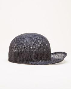 03797015277 Reinhard Plank Steffl Paper C Hat in Black